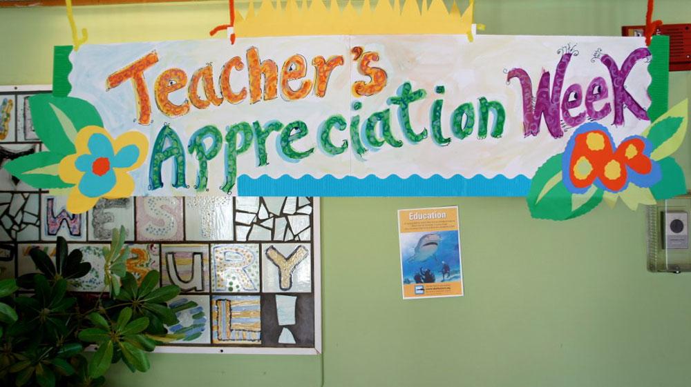 For Florida teachers, a bit more words than dollars from the Florida Legislature. (vbecker)
