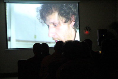 A scene from Matt Florio's 'Sexcuts' as it was screened at the Flagler Film Festival. (© FlaglerLive)