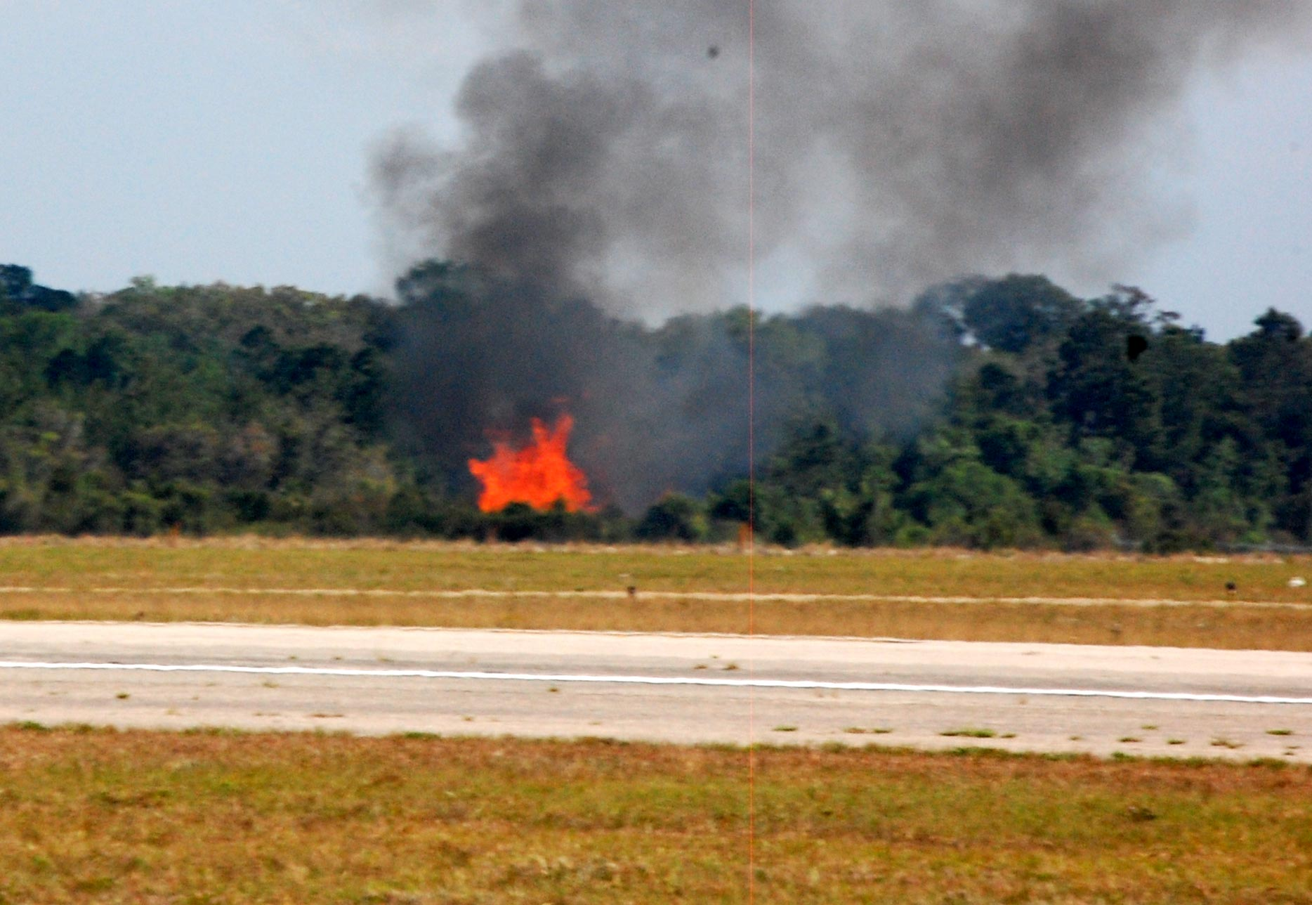 Plane Crash at Wings Over Flagler Air Show in Palm Coast, Florida ...