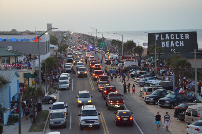 No room for mobile food vendors on A1A or State Road 100. (© FlaglerLive)