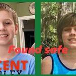 Xandar Garrett was found safe in Pinellas County.