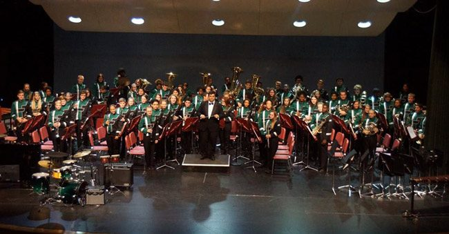 The Flagler Palm Coast High School Band is in concert tonight at the Auditorium under the direction of John Seth. Details below. (FPC)