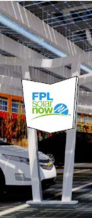 The program grants FPL free advertising on its public installations. (FPL)