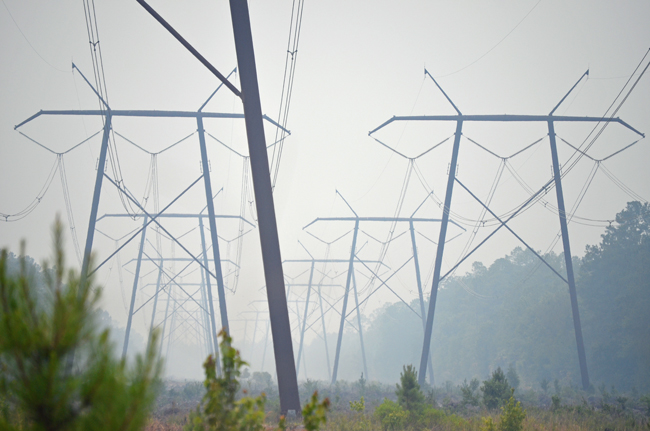FPL's hazy rate hikes are under review by the Florida Supreme Court. (© FlaglerLive)