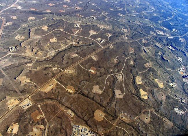 fracking landscape