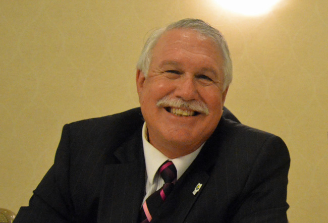 Frank Meeker is in a re-match with Dennis McDonald in the Aug. 26 Republican primary. (© FlaglerLive)