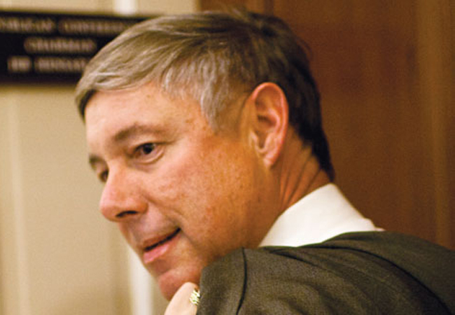 Rep. Fred Upton, the Michigan Republican, chairs a subcommittee whose RRepublican members have sent letters to Floridian navigators, demanding answers to a list of questions. The Obama administration calls the letters a 'blatant and shameful attempt to intimidate.'