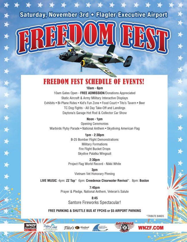 freedom fest 2018 schedule