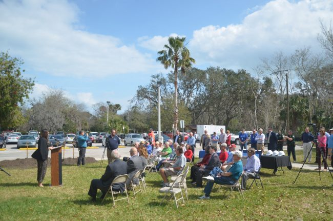 palm coast community center groundbreaking