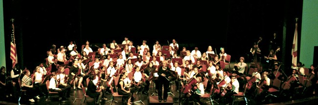 The Flagler Youth Orchestra is in concert at the Flagler Auditorium Monday evening, March 2. (© FlaglerLive)