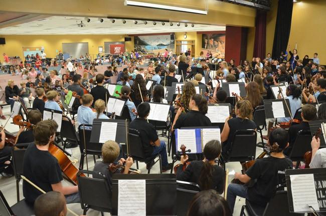 flagler touth orchestra open house