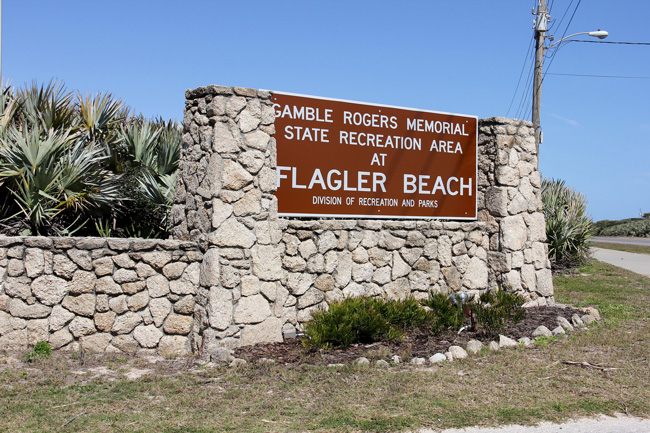 Gamble Rogers recreation area flagler beach