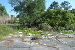 matanzas golf course garbage