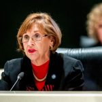 Gayle Harrell, the Stuart Republican, attempted to balance debate between two contentious sides over abortion. (NSF)