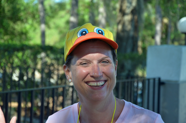 Georgia Turner's two years as head of Flagler County's tourism bureau were characterized by a radiant and energetic personality. (© FlaglerLive)