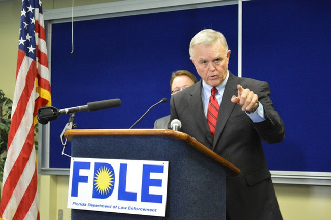 An investigation by the Tampa Bay Times revealed that Gov. Rick Scott forced out long-time FDLE chief Gerald Bailey when Bailey refused to politicize his department on Scott's behalf. (Bill Cotterell/ State Archives of Florida, Florida Memory)