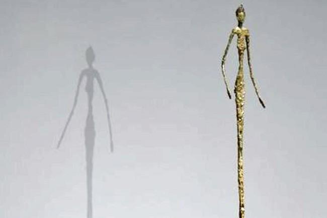 Giacometti's 'Chariot.'