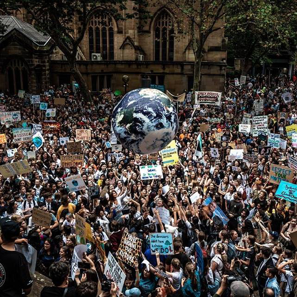 The Global Climate Strike in March drew 1,5 million young people in 2083 cities of 125 countries across world. Friday's strike goal is much greater, and includes sites in Central Florida, including Orlando. (Facebook)