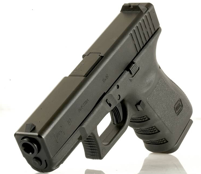 A Glock 19 similar to the one Jared Loughner used in his Tucson massacre.
