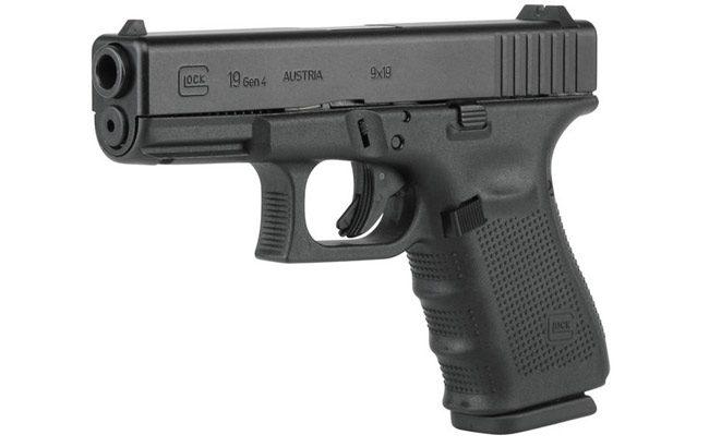 A 9mm Glock.