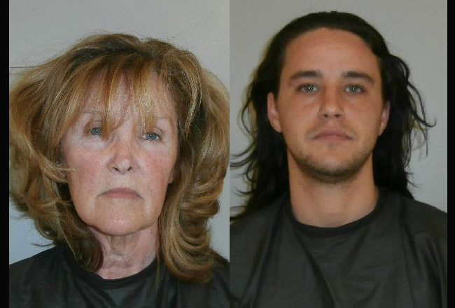 LaJuana D. Goggans and her son, Daniel Goggans, both arrested in the aftermath of a shooting incident on Leidel Drive in Palm Coast.