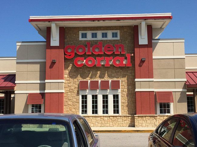 golden corral palm coast