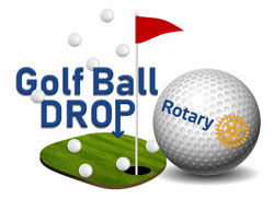 rotary club golf ball drop