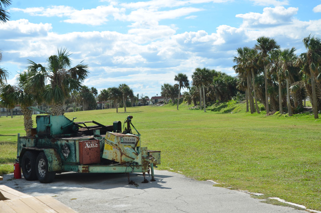 The city-owned but privately-run Ocean Palms Golf Course at the south end of Flagler Beach has had a troubled history for the past decade. (c FlaglerLive)
