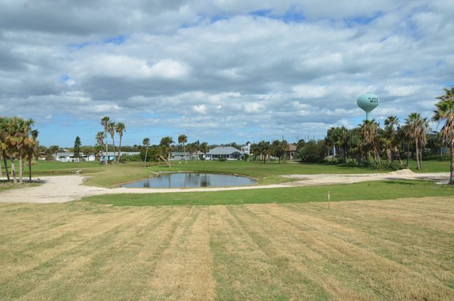 Flagler Beach's nine-hole golf course has been struggling to attract players. (c FlaglerLive)