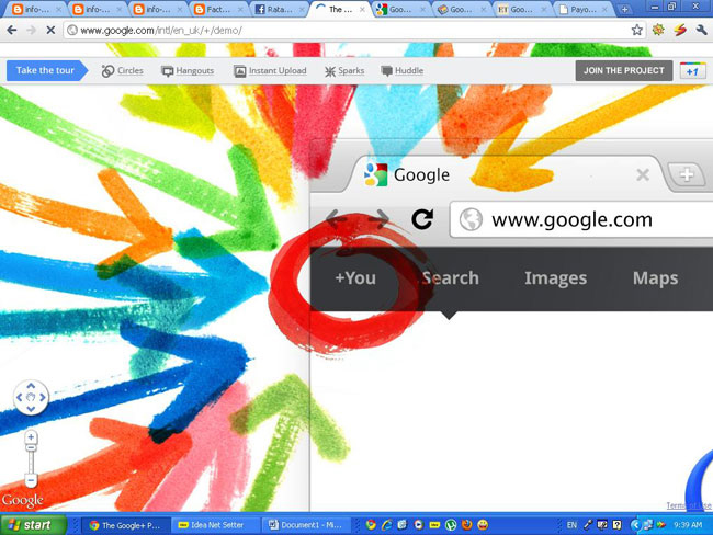 google plus revolution