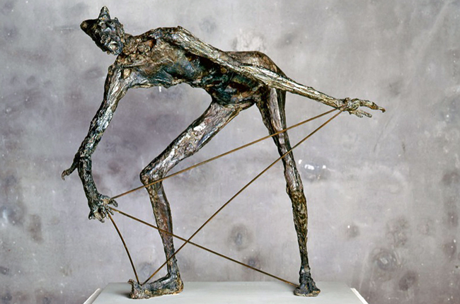 Germaine Richier, 'The Claw Creature' (1952).
