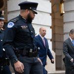 Gordon Sondland after his testimony at an impeachment hearing on Nov. 20. (Victoria Pickering)