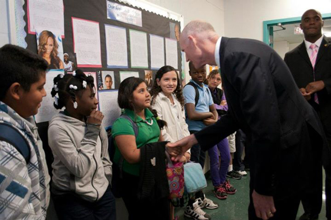 Gov. Rick Scott is proposing to increase education funding by over $500 million. (Rick Scott)