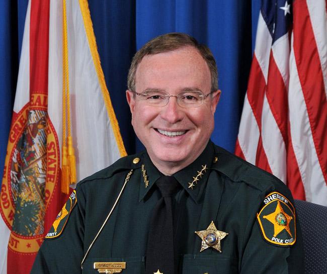 Polk County Sheriff Grady Judd was named president of the Florida Sheriff's Association. (Polk Sheriff's Office)