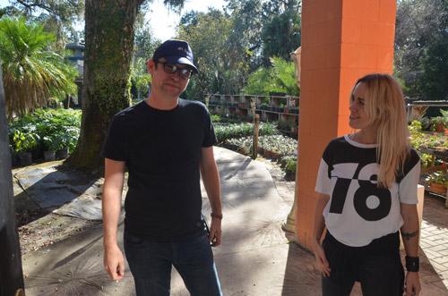 JJ Graham and Petra Iston. (© FlaglerLive)