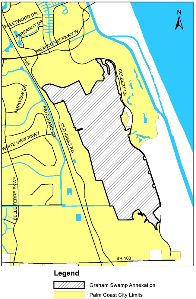 graham swamp annexation palm coast flagler county