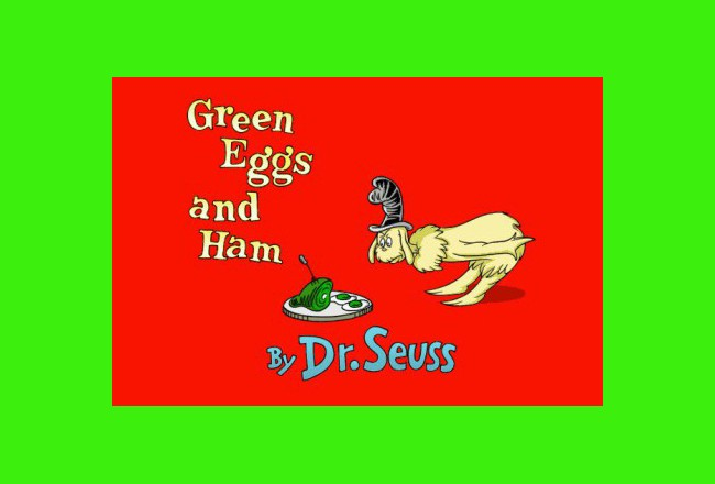 green eggs and ham banned books