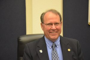 County Commission Chairman Greg Hansen. (© FlaglerLive)