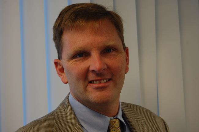 Groundhog Day for Enterprise Flagler: Executive Director Greg Rawls (© FlaglerLive)