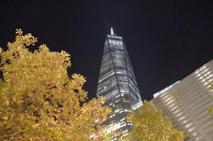 ground zero at night
