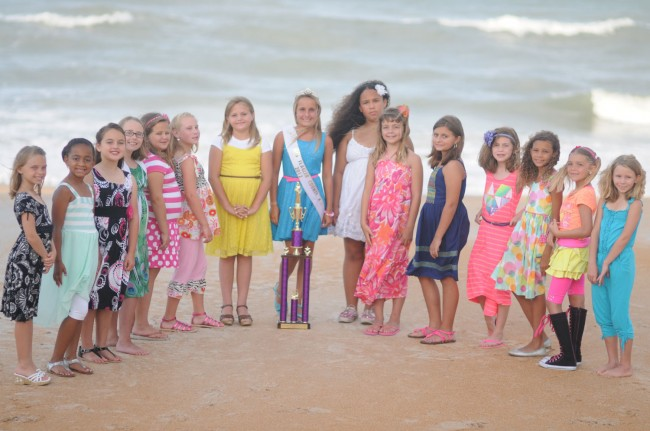 Little Miss Flagler County Pageant Contestants, Age 8-11