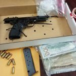 Hydrocodone pills, Ecstasy pills, a loaded 9mm handgun, a box of ammunition, a scale and packaging materials were found at 7A Buttonwell Lane in Palm Coast Wednesday morning, according to the sheriff's office, after a search warrant was served there. (FCSO)