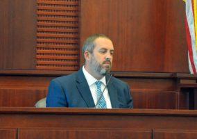 Kenneth Hamburg had been McDevitt's court-appointed lawyer. (© FlaglerLive)