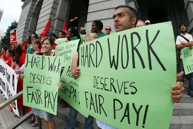 fair wages florida
