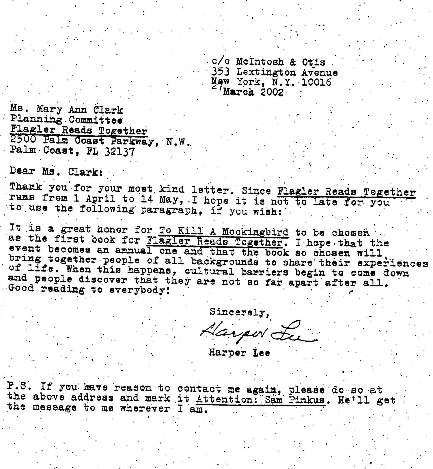 Before School Censors When Mockingbird S Harper Lee Spoke Proudly