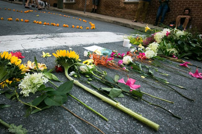 Where Heather Heyer was killed in Charlottesville
