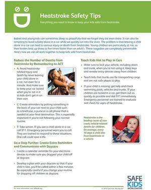 heat stroke safety tips