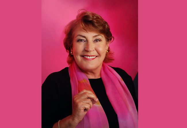 Helen Reddy has a low threshold for boredom.