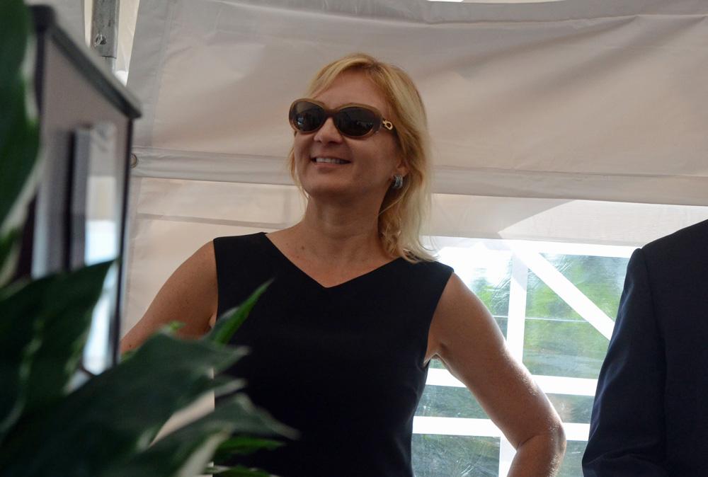 Helga van Eckert has led Flagler County's economic development department since 2012. (© FlaglerLive)