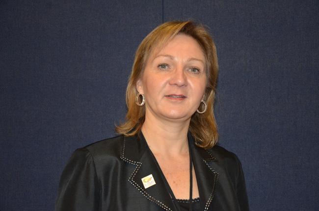 Helga van Eckert won the job in Flagler in January 2012. (© FlaglerLive)